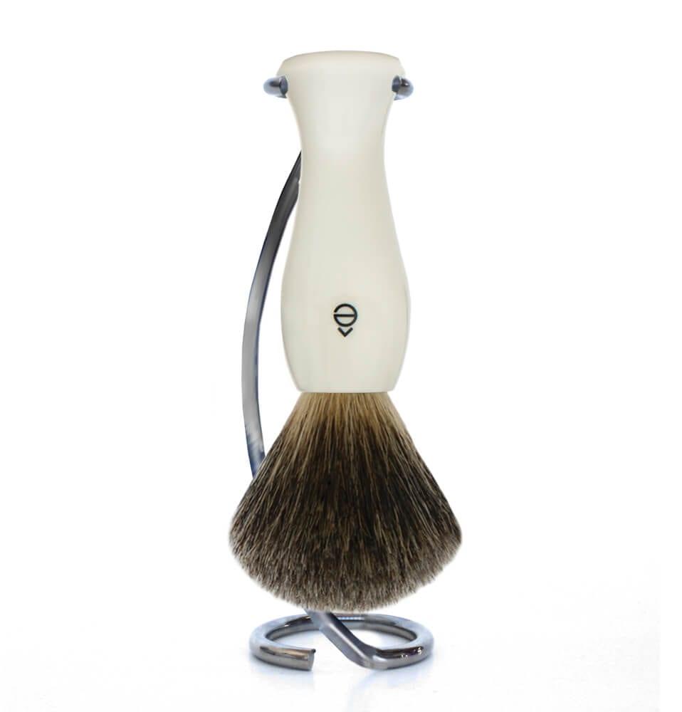 Twist Stand Shaving Set with Fine Shaving Brush-eShave