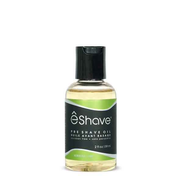 eshave pre shave oil verbena lime 2 oz