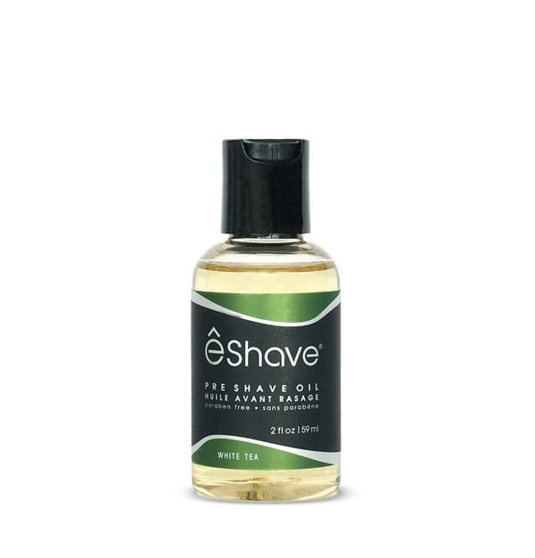 eshave pre shave oil white tea 2 oz
