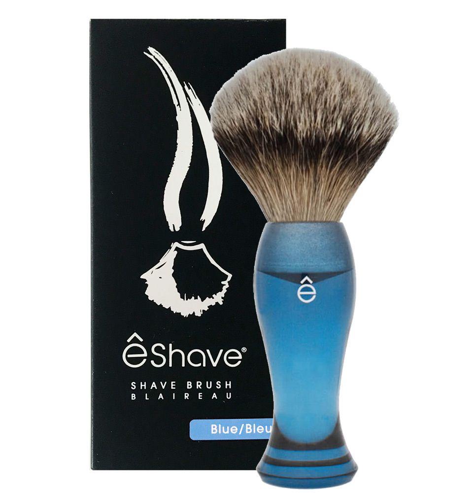 eshave shaving cream brush silvertip blue 3