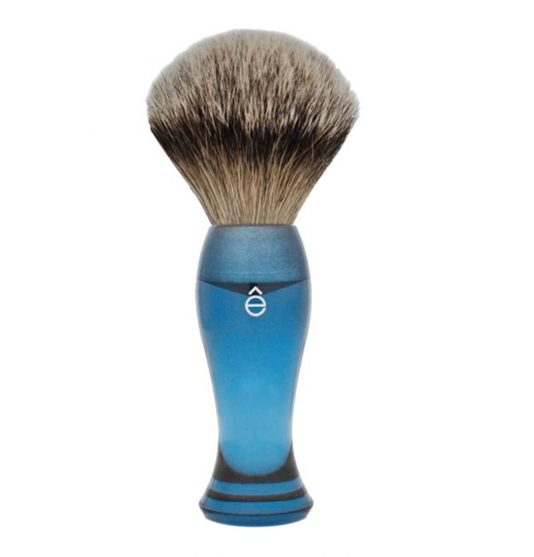 eshave shaving cream brush silvertip blue
