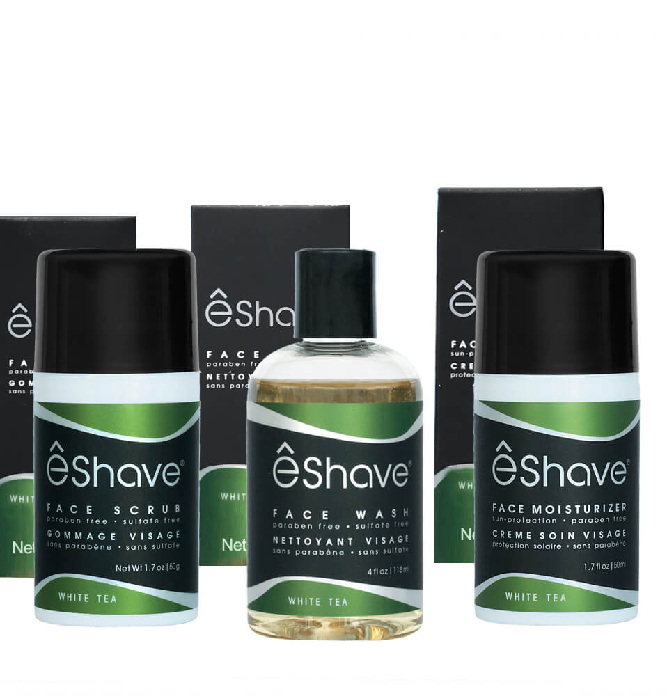 set of skincare products for men 2
