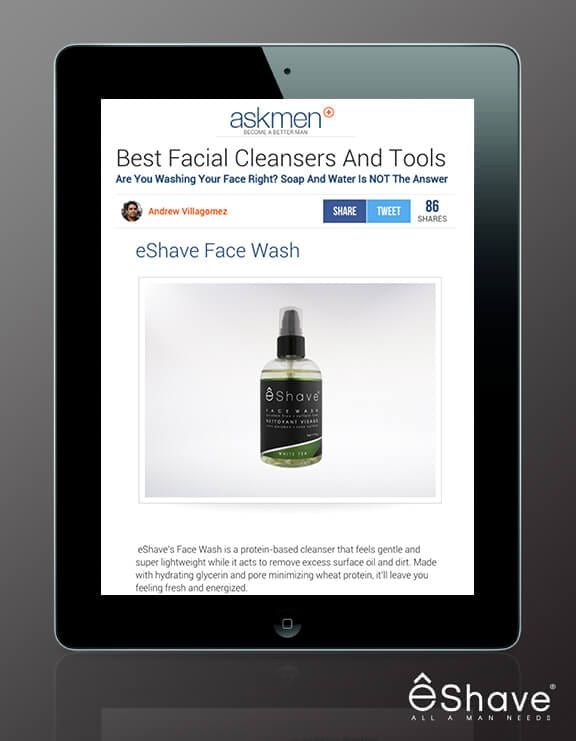 eShave Face Wash by ASKMEN