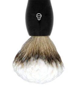 Badger Hair Shaving Brush with Shaving Cream