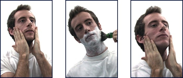 Steps for Using eShave Shaving Collection